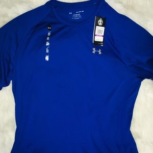 Under Armour Royal men's short sleeve shirt sz XXL